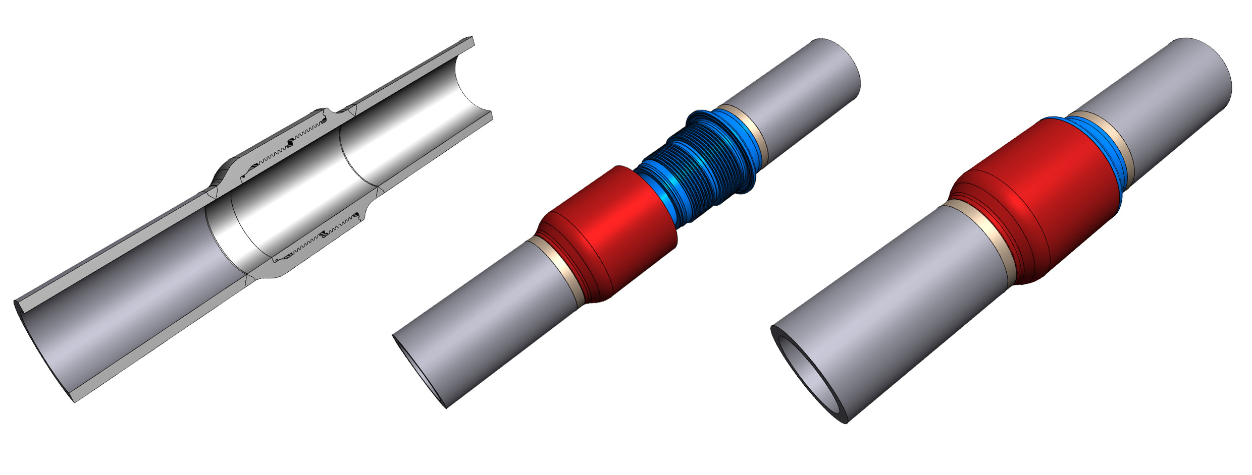 HMP Range Of Threaded Pipe Couplings